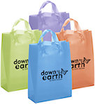Tulip Frosted Bright Shopping Bags